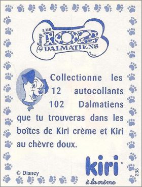 Les 102 dalmatiens. Collection Kiri / Disney