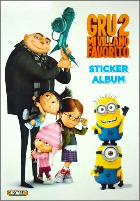 Gru 2 Mi Villano Favorito - Stickers Giromax  - 2013