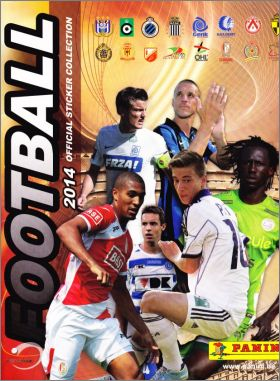 Football 2014 - Sticker collection - Belgique - Panini