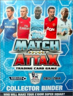 Match Attax Premier League 2013 / 2014 - Trading Cards Game