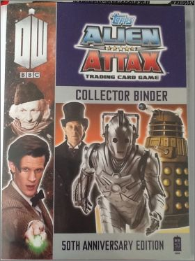 Doctor Who - Alien Attax 50th anniversary edition - Cards