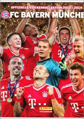 FC Bayern M�nchen 2013 - 2014 - Panini - Allemagne