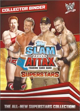 WWE - Slam Attax - Superstars - Trading Card Game