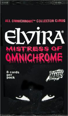 Elvira  Mistress of Omnichrome Comic Images Cards anglaises