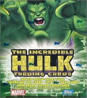 The Incredible Hulk - Topps - Trading Cards Angleterre