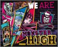 We Are Monster High! (dos violet) - Album Panini  - 2014