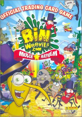 Bin Weevils.com - Official Trading Card Game Panini 2012 UK
