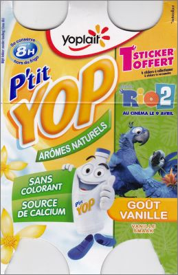 Rio 2 - Petit Yop de Yoplait - France - 2014