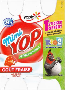 Rio 2 - Mini Yop de Yoplait - France - 2014