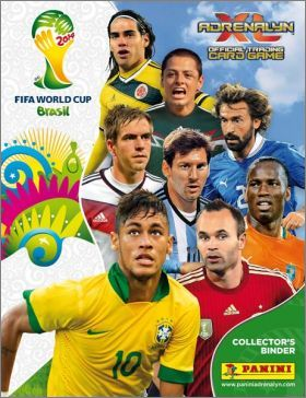 FIFA World Cup Brasil Adrenalyn XL Trading Card 2014 Part 2