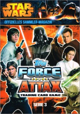 Han Solo édition limitée le2 Star Wars Force Attax Movie 3