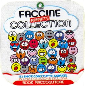 Faccine animate collection - lenticulaires - Preziosi - 2007
