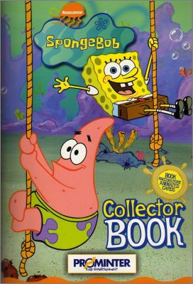 Bob l'éponge / Spongebob animated cards - Italie - 2004