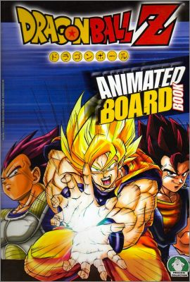 Dragonball Z - Animated Board Book  Preziosi Collection 2006