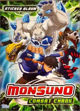 Monsuno Combat Chaos - Stickers Album - Topps