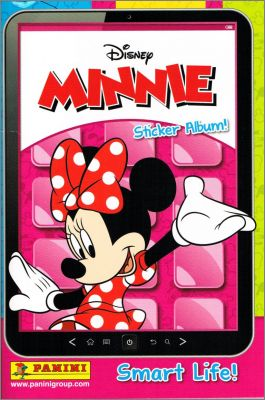 Minnie Smart Life! - Disney - Sticker Album! - Panini