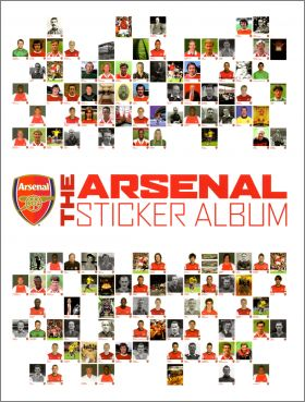 Arsenal The Sticker Album - Andy Exley - Angleterre