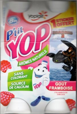 Dragons 2 - Petit Yop de Yoplait - France - 2014