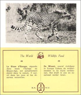 The World Wild Life Fund - Tabacs Jubilé - 1968