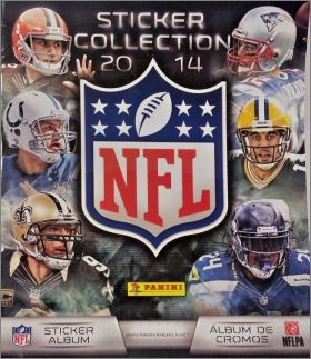 NFL 2014 sticker collection  -  Panini - USA -  Canada