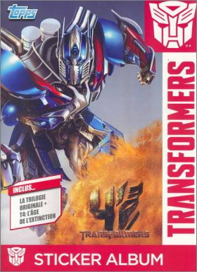 Transformers - Topps - France - 2014