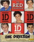 One Direction The Red Collection - Sticker Album Panini 2014
