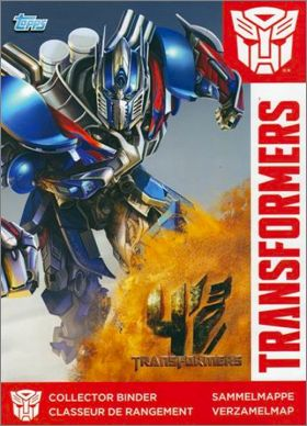 Transformers 4 l'�ge de l'extinction Tradings cards - Topps