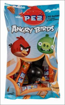 Angry Birds - PEZ stickers