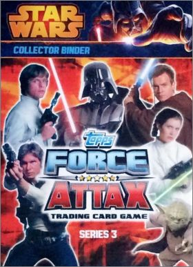 Star Wars Force Attax Movie Serie 3- Tradings cards -Anglais