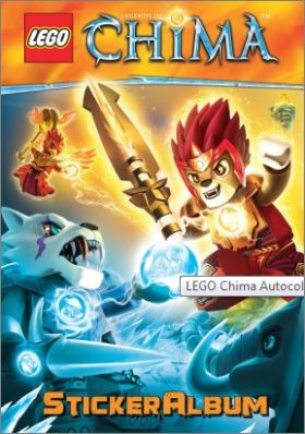 Lego - Legends of Chima - Blue Ocean (dos bleu) - Allemagne