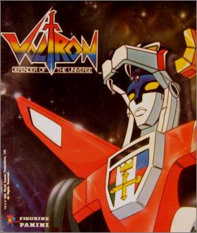 Voltron - Defender of the universe - Figurine Panini - 1984