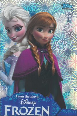 Frozen Disney - Activity cards - Topps - 2014