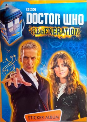 Doctor Who - Régénération - Stickers Topps - Angleterre 2014