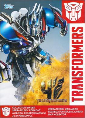 Transformers 4 l'âge de l'extinction Tradings cards -Pologne