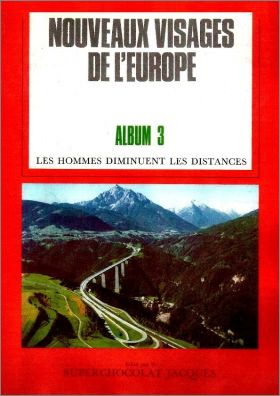 Nouveaux Visages de l'Europe - Album N° 3 - Superch. Jacques