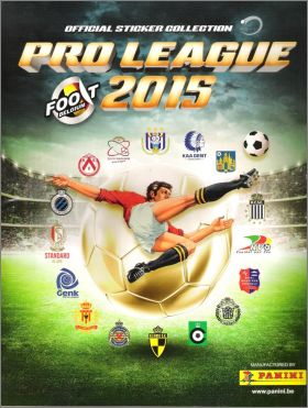 Football Belgique - Pro League 2015 - Panini