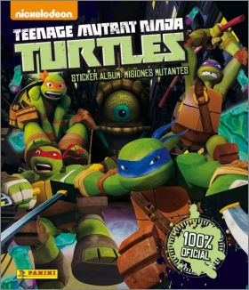 Teenage Mutant Ninja Turtles 2 - Sticker Album Panini - 2014