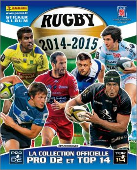 Rugby 2014 - 2015 - Panini - France