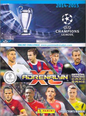 UEFA Champions League 2014 - 2015 Adrenalyn XL Trading Cards