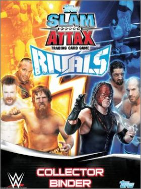 WWE - Slam Attax - Rivals - Trading Card Game - Anglais