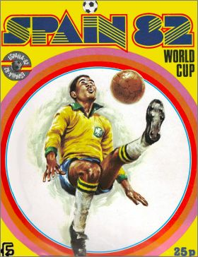 Spain 82. World cup -  F.K.S Publishers Ltd - Angleterre