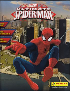Ultimate Spider-man - Marvel- Sticker Album - Panini - 2014