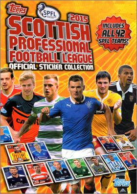 Scottish Professional Football League 2015 - Topps