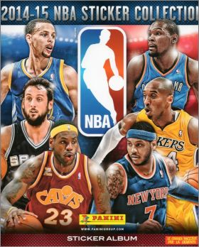 NBA - Sticker Collection - 2014-15 - Panini - Italie