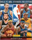 NBA Basketball 2014-15 - Sticker Collection - Panini Italie