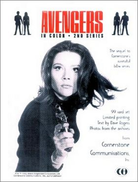 The Avengers In Color Trading Cards Cornerstone anglais 1993