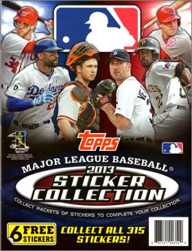Major League Baseball Sticker Collection 2013 -  Topps - USA