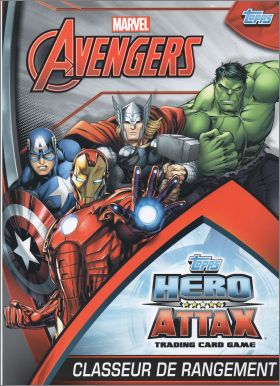 Avengers Hero Attax - Card Game - Topps - 2015 - France