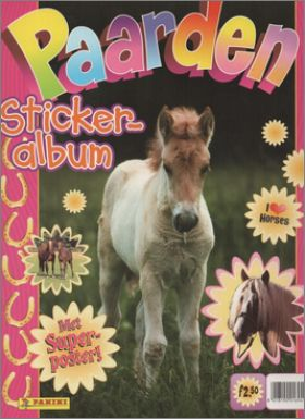 Paarden - Panini - Chevaux - Pays-Bas - Octobre 1995