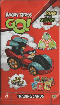 Angry Birds  GO ! - Trading cards - Giromax  - 2014